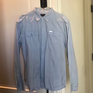 MARC ECKO. XXL cotton button down